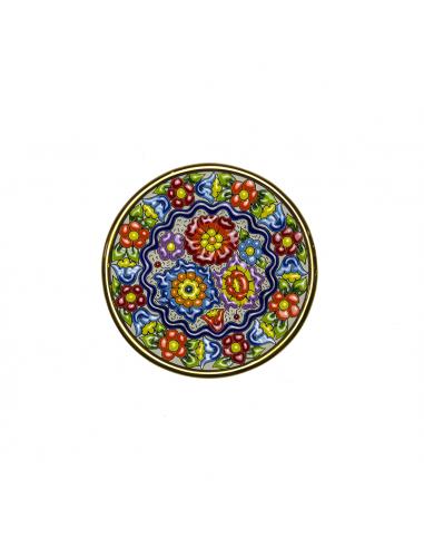 Plato cerámica española decorativa...