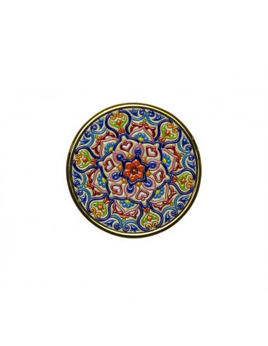 Plato cerámica decorativa andaluza 17...