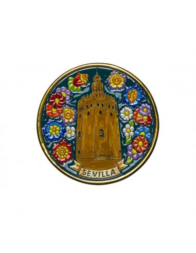Plato Torre del Oro de Sevilla...