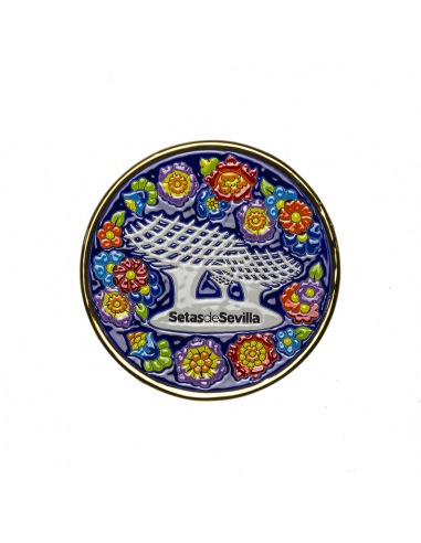 Plato Setas de Sevilla cerámica...