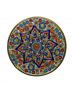Plato cerámica decorativa...
