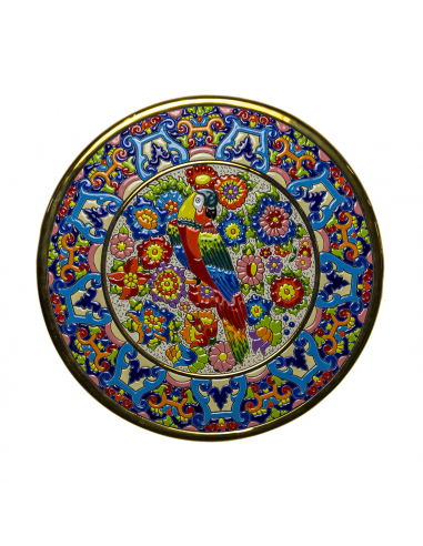 Spanish Ceramics. Plate 32 cms...