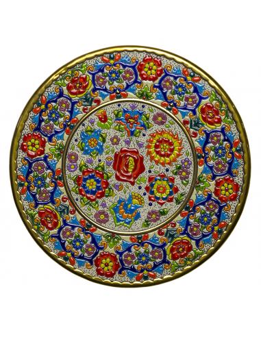 Plato cerámica decorativa andaluza 35...
