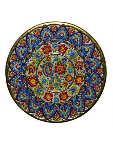 Plate 40 cms ceramics Andalusian...