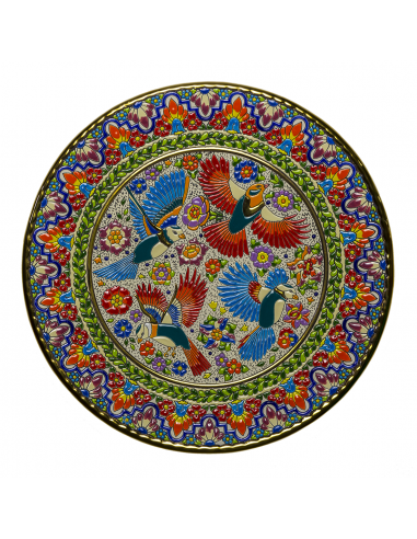 Plate 40 cms  ceramics Andalusian...
