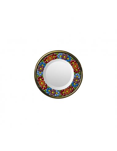 Plato Espejo cerámica decorativa...