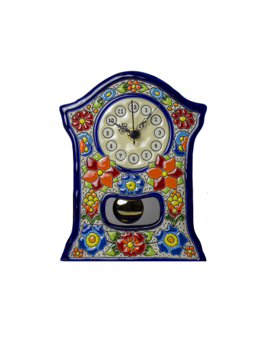 Reloj Sobremesa cerámica española...