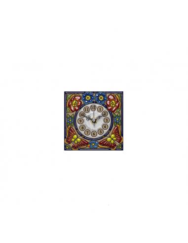 Reloj azulejo cerámica decorativa...