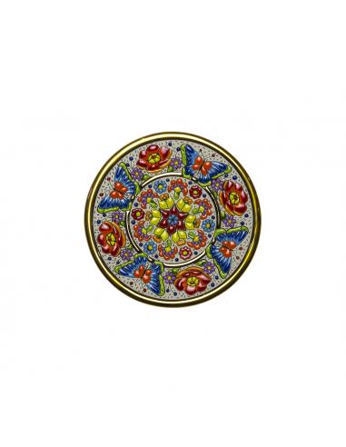 Spanish Ceramics. Plate 17 cms...