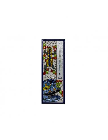 Termómetro Gaudí cerámica decorativa...