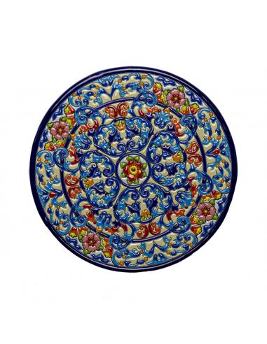 Plato cerámica decorativa andaluza...
