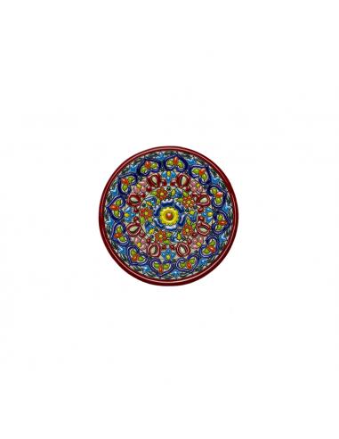 Plato cerámica decorativa andaluza 14...