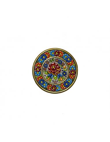 Spanish Ceramics. Plate 14 cms...