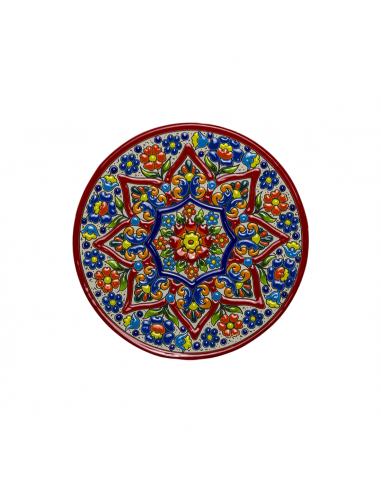 Spanish Ceramics. Plate 21 cms...
