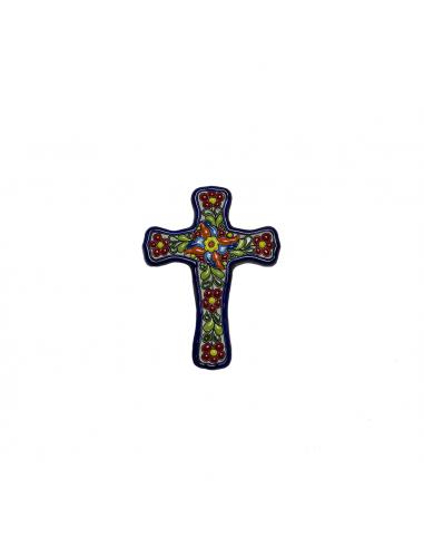 Cruz cerámica española decorativa...