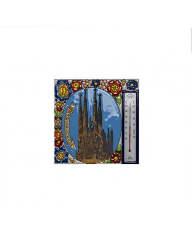 Termómetro azulejo Sagrada Familia...