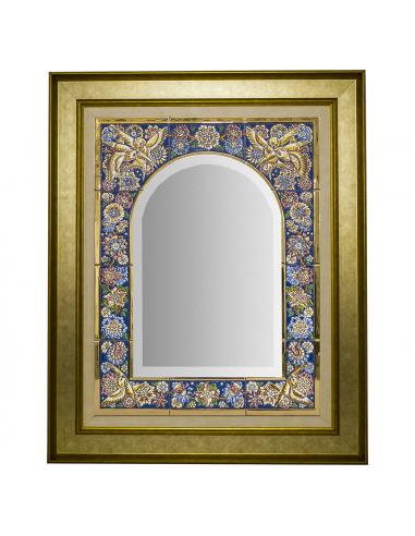 Espejo cerámica decorativa andaluza...