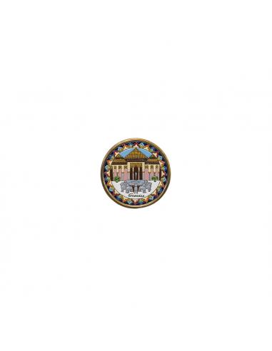Plato Alhambra de Granada cerámica...