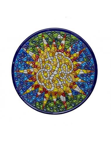 Plato Gaudí Barcelona cerámica...