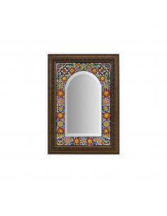 Espejo cerámica decorativa...