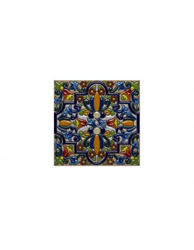 Azulejo cerámica española decorativa...