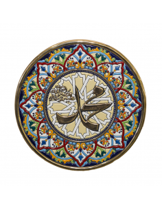 Plate 32 cms Andalusian...